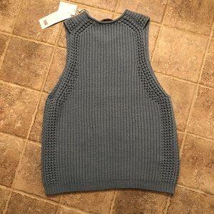 Vince blue sweater tank